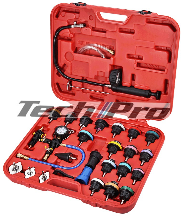 AC-003 Coolant Pressure Tester+Refill Master Set