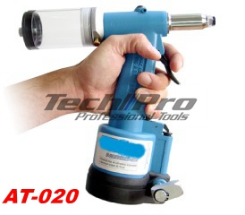 AT-020 Air Hydraulic Riveter Gun - 3/16""