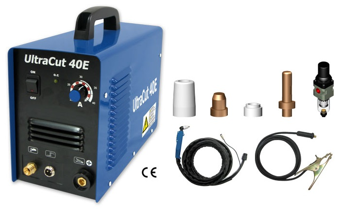BA-046 ULTRACUT 40E Portable Inverter Air Plasma Cutter - Click Image to Close