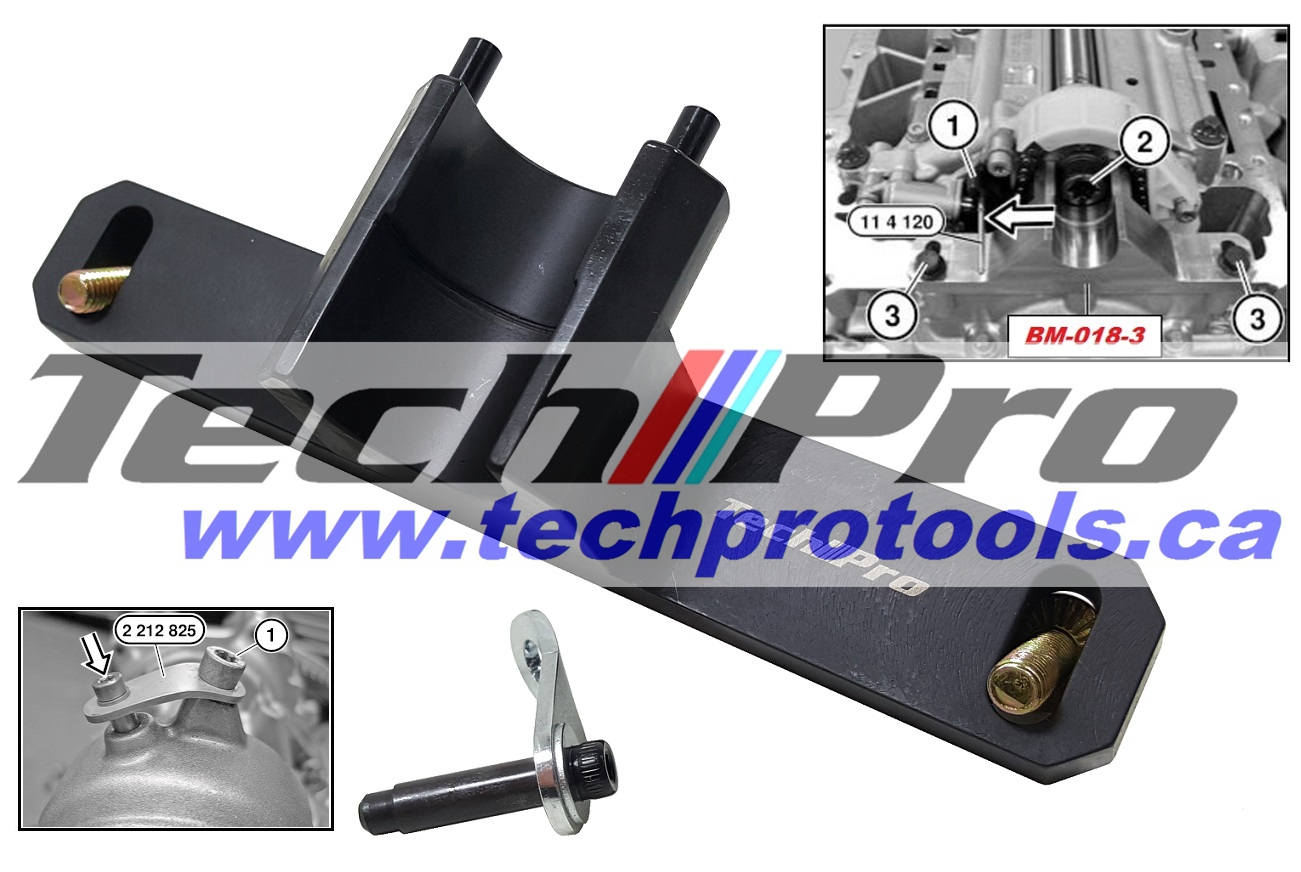 BM-027-1 BWM - N20 Oil Pump Removing & Fitting Tool Set