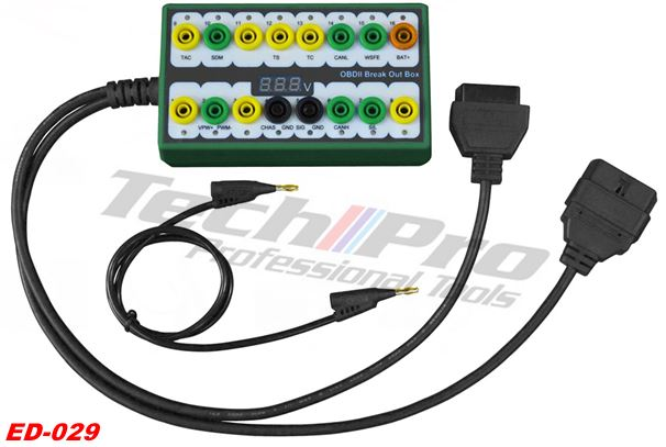 ED-029 - OBDII-16 Break Out Tester Box