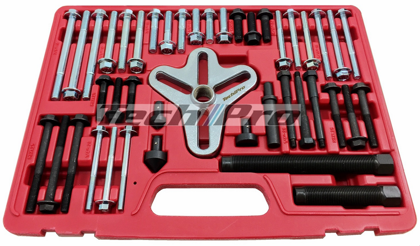 EE-026 - Harmonic Balancer Puller Master Set - Flange Type - Click Image to Close