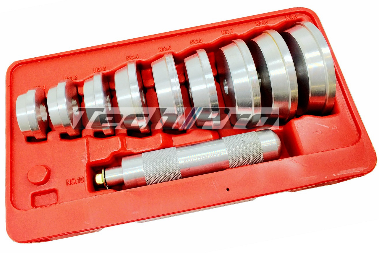 GS-011 Bearing Race & Seal Driver Set - 10's