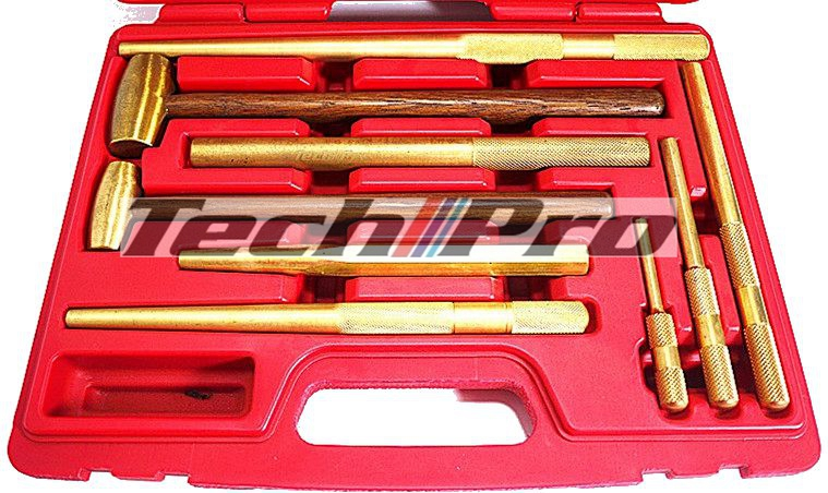 HT-001 - Non-Sparking Punches Hammers Set