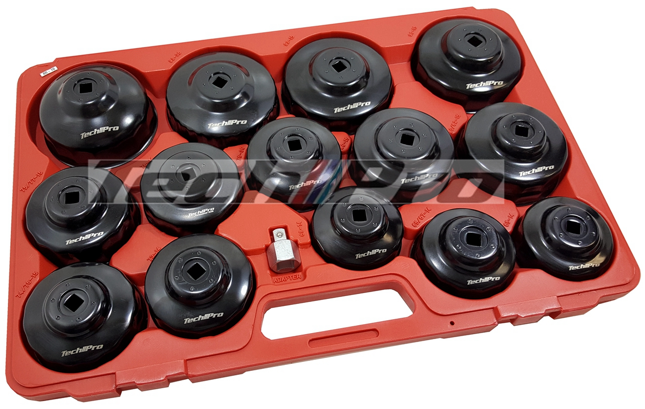 OS-002 - Oil Filter Cap 15 pcs - Steel