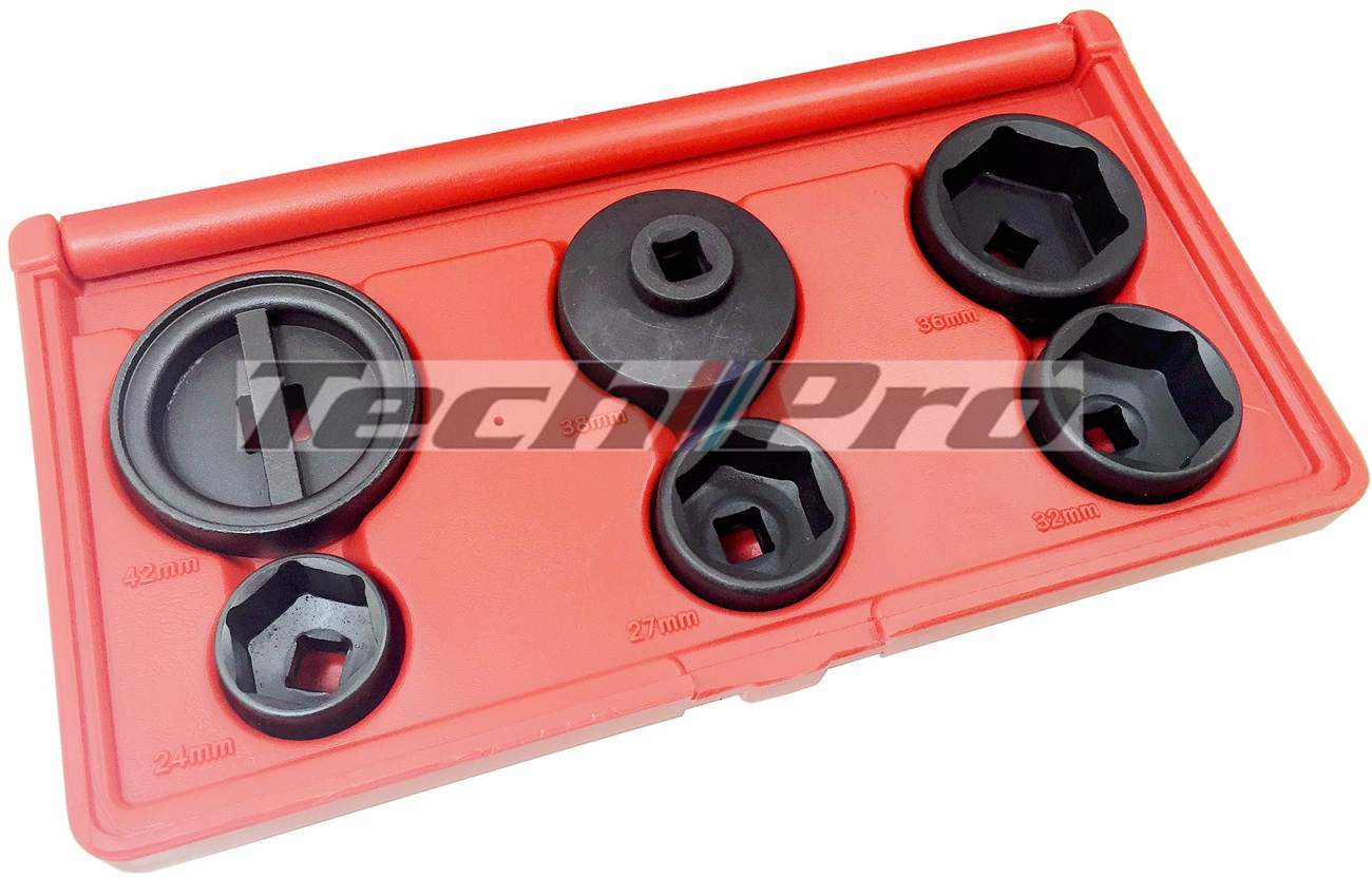 OS-010 - Oil Filter Socket Set - 6 pcs