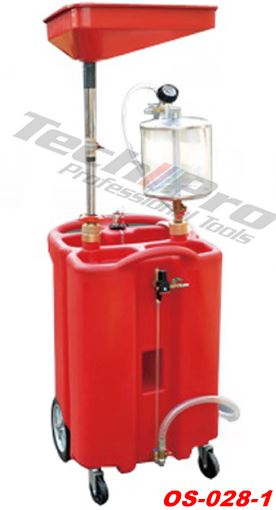 OS-028-1 - Oil Drainer + Extractor - 100 L