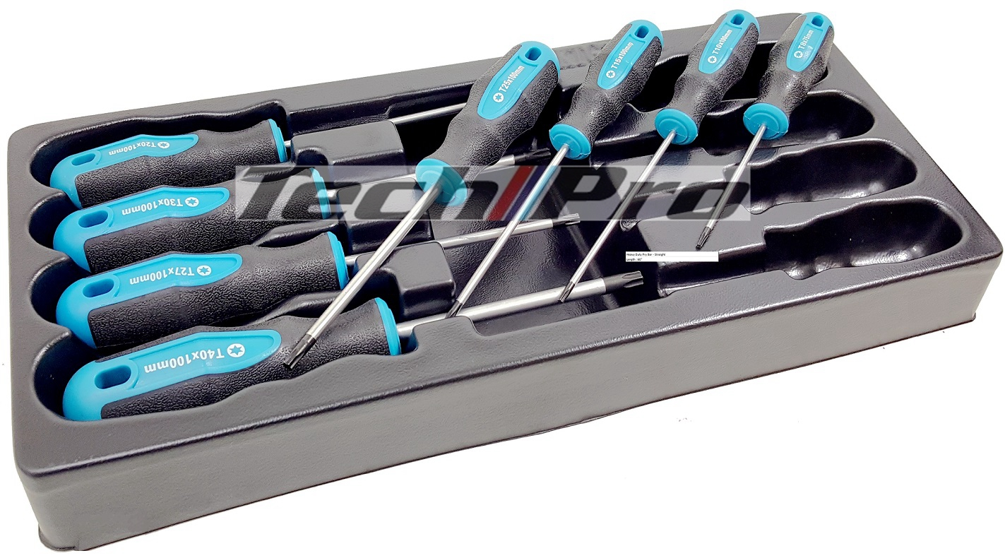 PS-015 - TORX Pro. ScrewDriver Set - 8 pcs