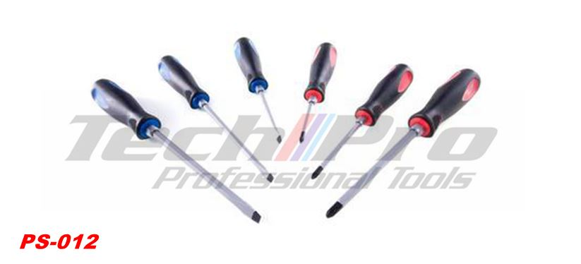 PS-012 - Go Through Screwdriver -6pcs