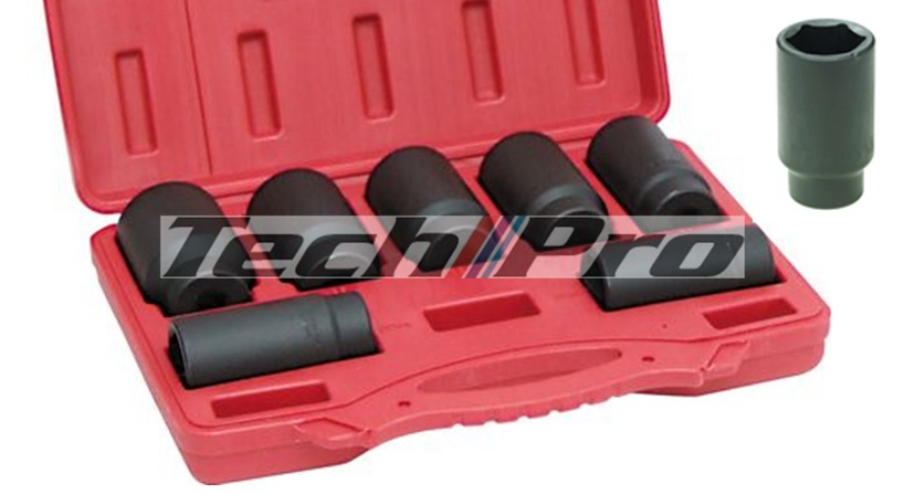 SK-012 Axle Nut Socket Set - 7 pcs