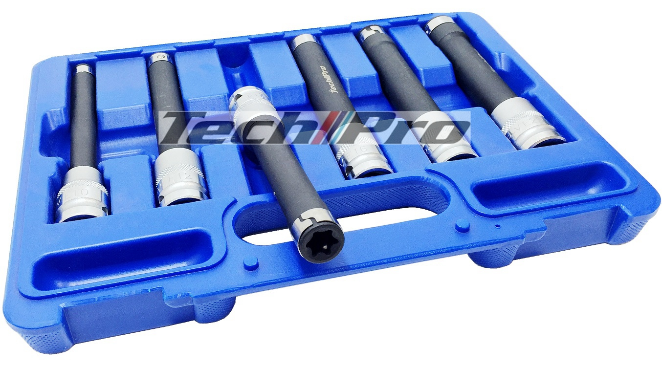 SK-054 Torx Star-E Socket Set - 6 pcs