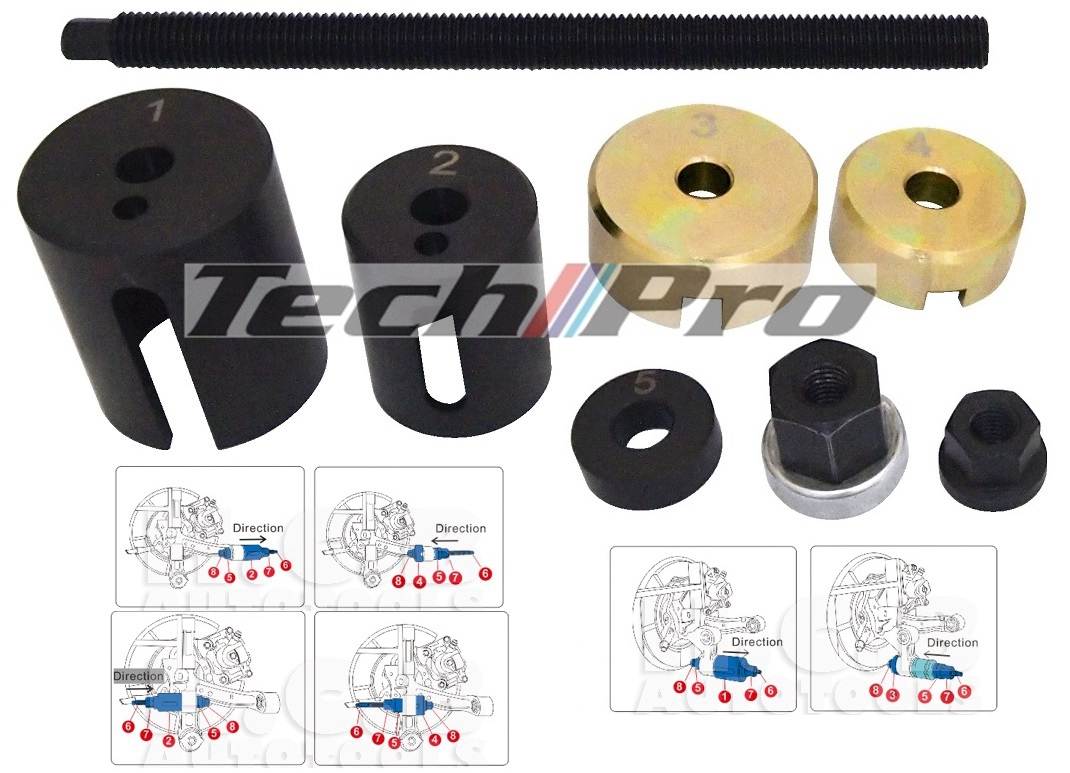 TA-009 - TOYOTA - Carmy 2002-11 Rear Axle Bushing R & I Tool Set