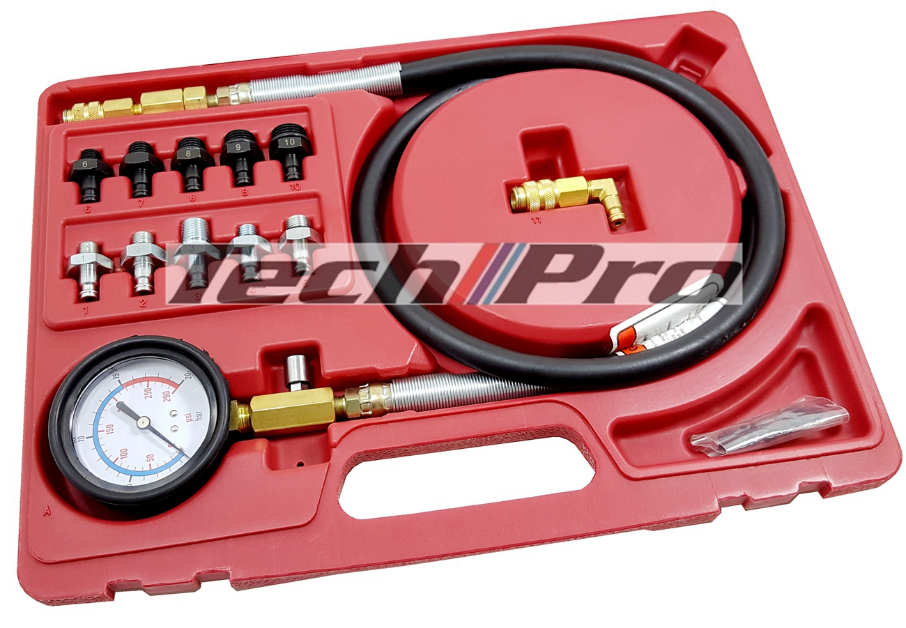 TG-018-1 Oil Pressure Gauge Set High Pressure 0 - 600 psi