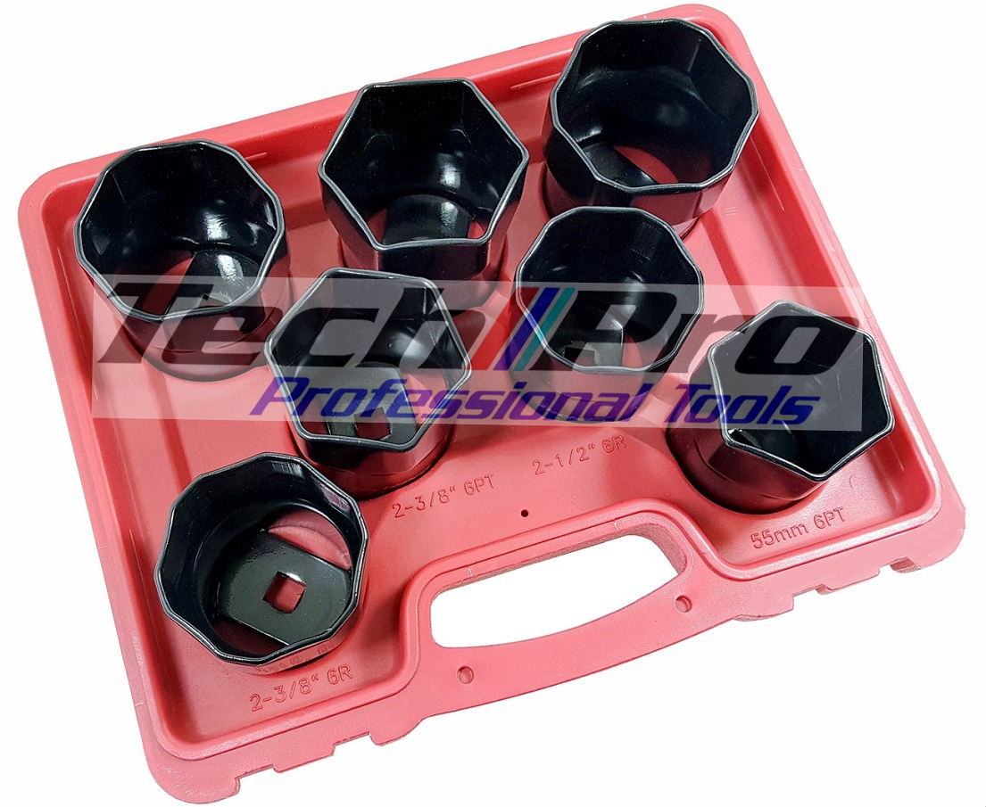 TS-001 - Truck - Wheel Bearing Locknut Socket Set