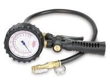 TW-011 Precision Tire Gauge / Inflator - Analog