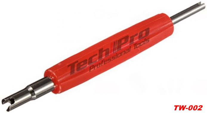 TW-002 - Tire Valve Screwdriver - 2 in 1