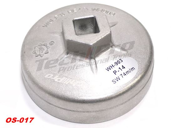 OS-017 - Engine Oil Cap - Benz / VW - 76mm/14pt